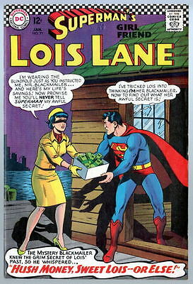 SUPERMAN'S GIRL FRIEND LOIS LANE # 71 Batman Robin cameo 2nd App CATWOMAN 1967