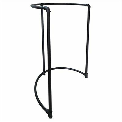 New Pipeline Collection Half Round Garment Rack Black *free Shipping*