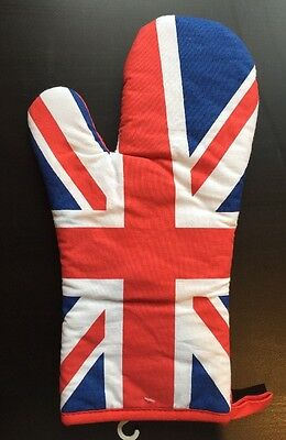 Union Jack Single Oven Glove Mitt UK Tourist Souvenir Gift