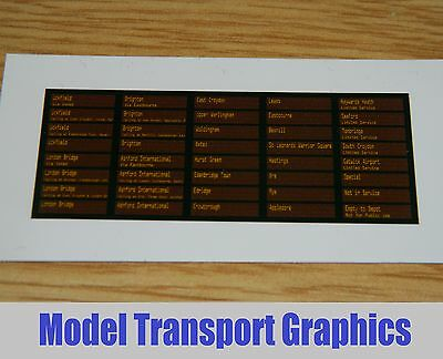 Southern Area Digital destination displays for Bachmann Class 171 Turbostar DMU