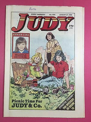 JUDY - Stories For Girls - No.1494 - August 27, 1988 - Comic Style Magazine