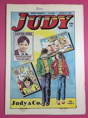 JUDY - Stories For Girls - No.1493 - August 20, 1988 - Comic Style Magazine