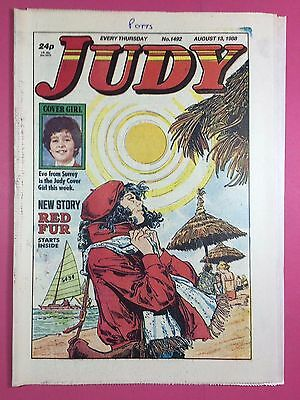 JUDY - Stories For Girls - No.1492 - August 13, 1988 - Comic Style Magazine