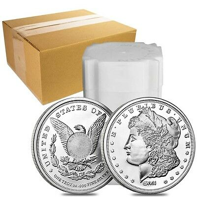 Monster Box of 500 - Morgan Dollar Design Sunshine 1 oz. .999 Fine Silver Round