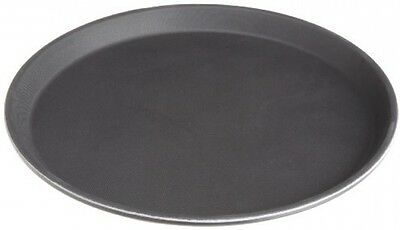Serving tray Non Skid Rubber Lined 14-Inch Plastic Round Economy  plate bar