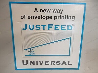 New 'JUSTFEED Universal' Envelope Feed System for Printing Presses
