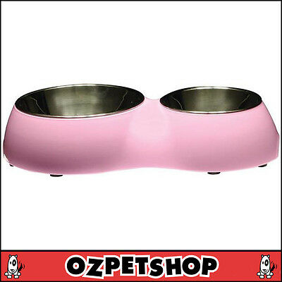 CATIT Double Diner for Cats - Double Cat Bowl - Pink