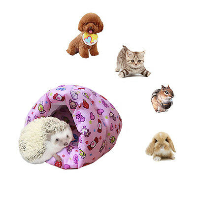 Hamster Rabbit Bed Hedgehog Guinea Cat Cave House Bag Mat Pad Tent