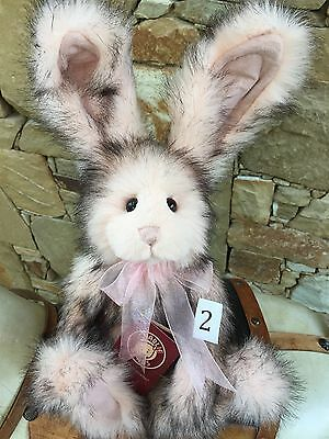 Briar Rose Collectable Charlie Bears Fully Jointed 38cm Plush Rabbit