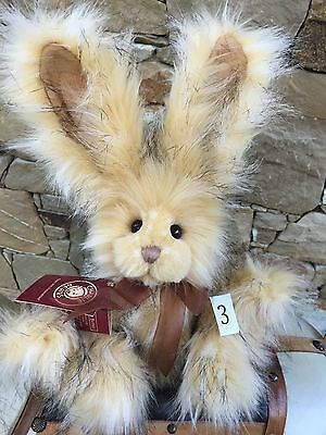 Dandylion Collectable Charlie Bears Fully Jointed 38cm Plush Rabbit