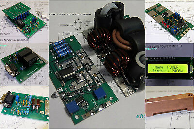 KIT power amplifier 1.8-54 MHz 1200W for LDMOS BLF188XR with protection unit