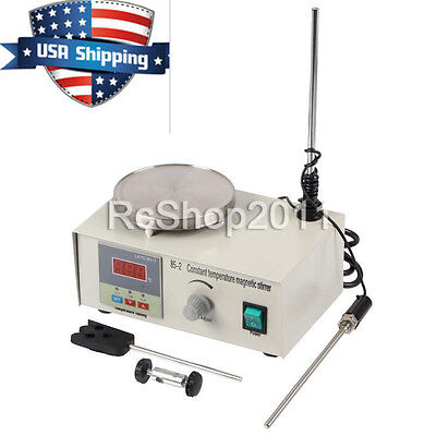 US Laboratory Lab Magnetic Stirrer with Heating Plate 85-2 Hotplate Mixer 110V