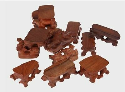 New 1 pcs hard Wood Stand of Netsuke,Snuff bottle,Carving Display