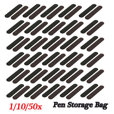 1/10/20/50 Leather Single Pen Storage Case Pouch Sleeve Bag Holder Black/Coffee
