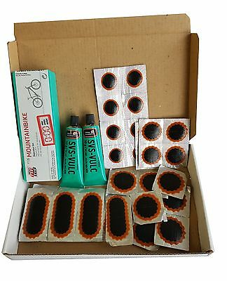 Puncture Repair Kit Rema Tip Top Bicycle Mountain Bike Car Caravan Inner Tube