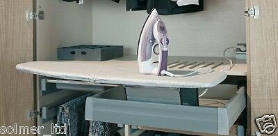 Hafele 568.60.963 Ironfix Pull-out Ironing Board for MX Drawer - 11468