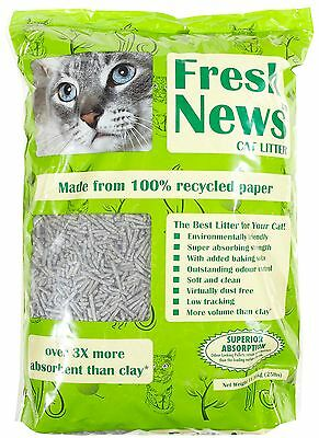 Fresh News Cat Litter, 5.45Kg Premium Service, Fast Dispatch.