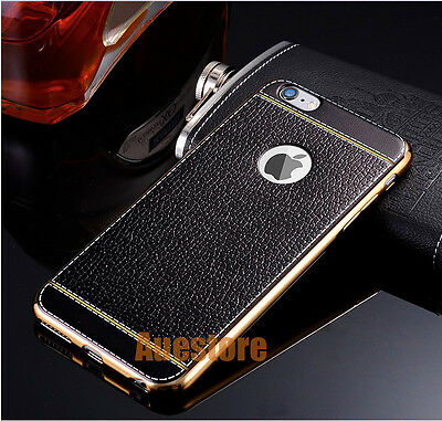 Luxury Leather back cover for iPhone 6 7 Plus Case