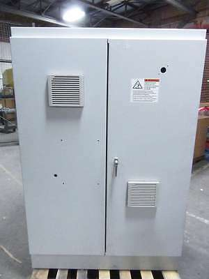 Hoffman Two Door Electrical Control Cabinet PDU 72x48x25 AME01