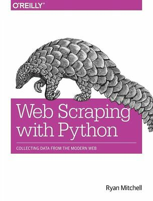 Web Scraping With Python by Ryan Mitchell (English) Paperback Book Free Shipping
