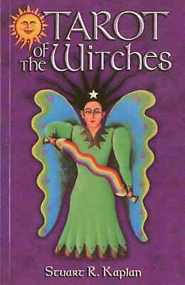 The Tarot of the Witches Book by Stuart R. Kaplan (English) Paperback Book Free