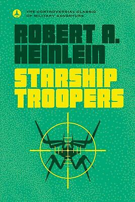 Starship Troopers by Robert A. Heinlein (English) Mass Market Paperback Book Fre