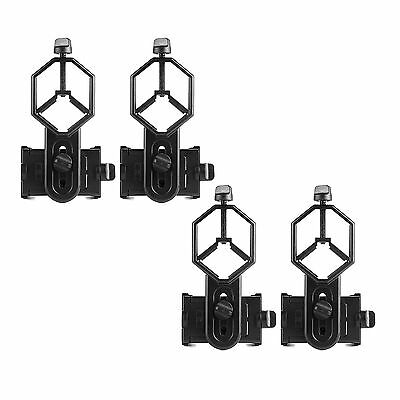 4pcs Universal Cell Phone Adapter Mount for Spotting Scope 25-48mm Eyepiece Best