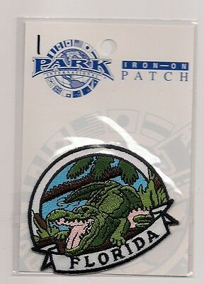 Souvenir Patch - State Of Florida - Alligator
