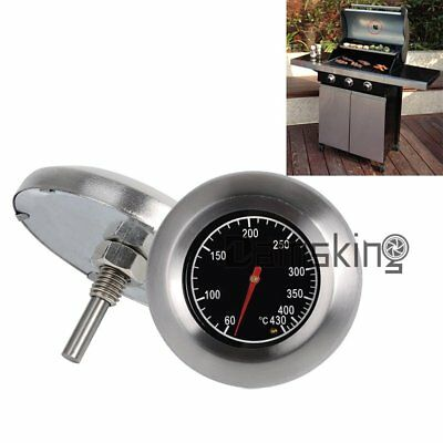 2x Thermometer Bratenthermometer Grillthermometer Edelstahl BBQ Gasgrill 60-430℃