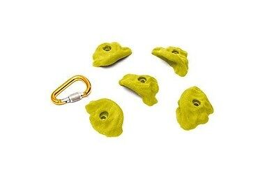 ETCH Ergo Set A Climbing Hold, Yellow