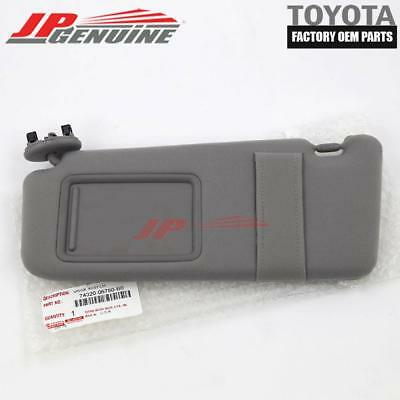Toyota Genuine Oem Gray Drivers Side Sun Visor Without Sunroof 2007-2011 Camry