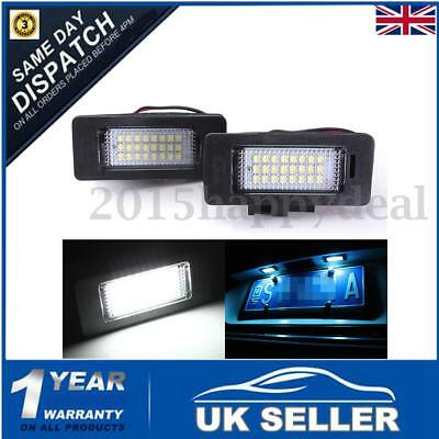 2x LED License Number Plate Light Lamp For A4 S4 A5 S5 RS5 B8 Q5 TT VW PASSAT