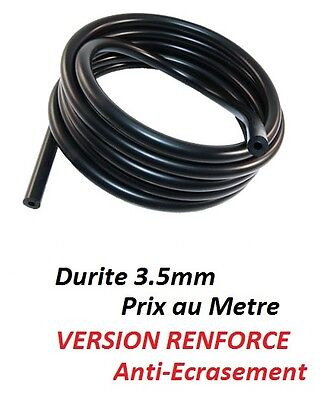 1 metre tuyau durite RENFORCE 3.5mm pour lave glace Abarth