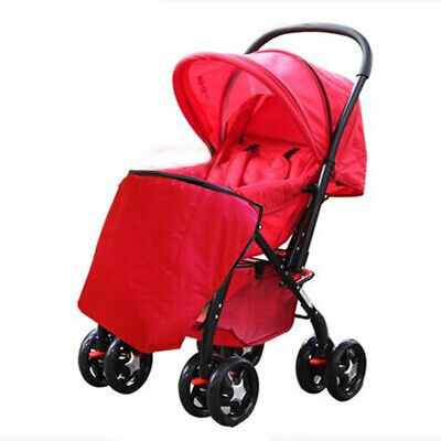 Universal Footmuff Fit Pushchair Buggy Stroller Pram Baby Cosy Toes Red