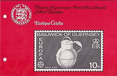 Guernsey Presentation Pack Mnh 1976 Europa Crafts 10% Off 5+