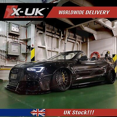 Front splitter / Lip styled styled for AUDI A5 / S5 2012-2015