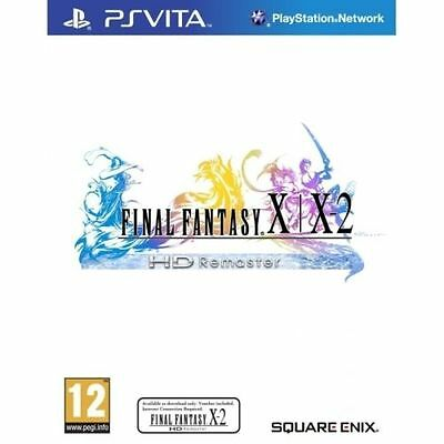 Final Fantasy X & X-2 HD Remastered PS Vita PAL Brand New In Stock From Brisbane