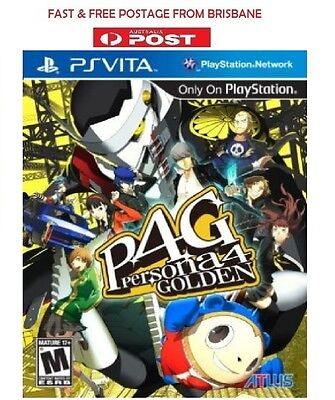 Persona 4 Golden PS Vita Brand New *DISPATCHED FROM BRISBANE*