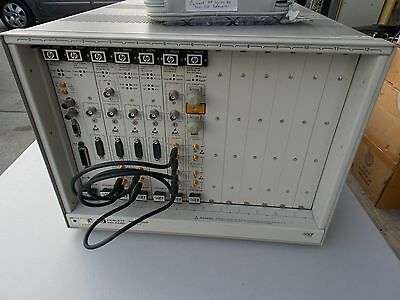 HP 75000 Series C E1400B VXI Mainframe w/ Cards,
