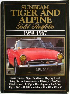 Sunbeam Tiger And Alpine Gold Portfolio 1959 – 1967 - R M Clarke Car Book