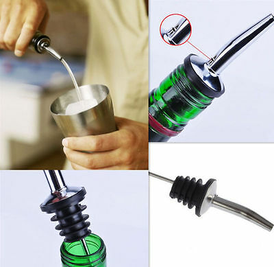 HOT SALE HUA C Pourer Wine Liquor Bottle Spout Stopper Stainless Steel Free Flow