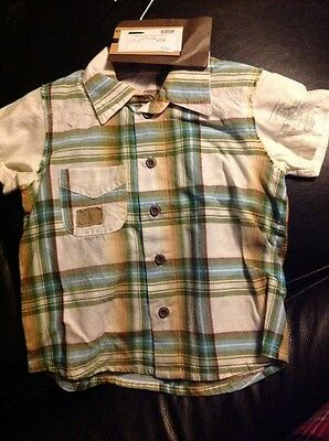 Ikks check shirt age 12 mths