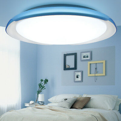 LED Modern Ceiling light 21W 24W Blue Purple Lamp 3 Modes for children's bedroom