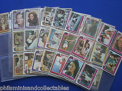 Topps  Charlies Angels Bubblegum Cards   * Choose The One's You Need *  1977