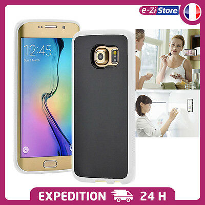 Coque Etui Anti Gravité Adherence Multi Surface Samsung Galaxy S6 S7 Et Edge