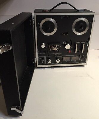 Vintage AKAI 1721L HIFI Stereo Reel to Reel 4 Track Tape Recorder Player