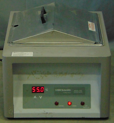 Vwr Scientific Model 1235 Heated Water Bath