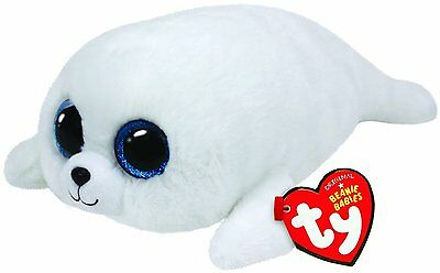 Seal Plush Toy TY Beanie Boo Plush - Icy the Seal 15cm for Kids