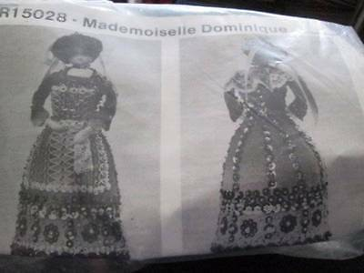 Mademoiselle Dominique Doll Craft Sewing Kit, 1988