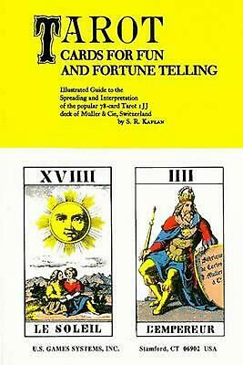 Tarot Cards for Fun and Fortune Telling by S.R. Kaplan (English) Paperback Book